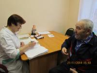 Беседа со старшей медсестрой